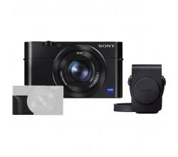 DSC-RX100 III + grip ag-r2 + Case lcs-rgx Sony