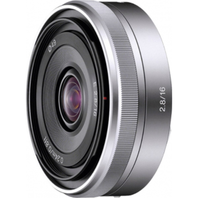 SEL 16mm F/2.8 Argent Sony