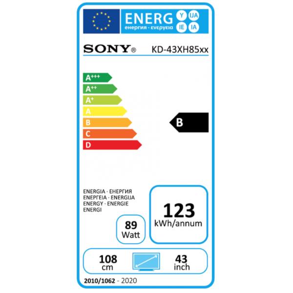 Sony Televisie KD-43XH8599