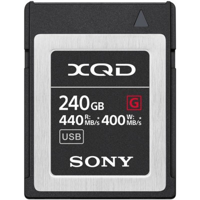 XQD High Speed 240GB R440 W400 Sony