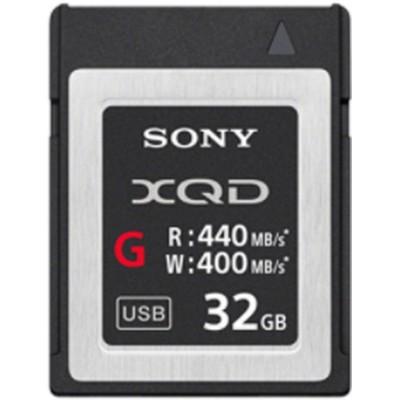 XQD High Speed 32GB R440 W400 Sony
