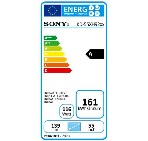 KD-55XH9299  Sony