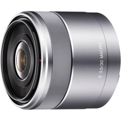 SEL 30mm F/3.5 Zilver Sony