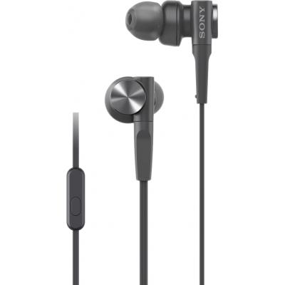 MDR-XB55AP EXTRA BASS™-oortelefoon Zwart  Sony