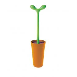 Merdolino WC-Borstel Oranje  Alessi