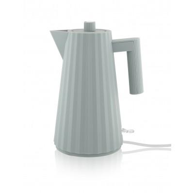 Plissé waterkoker grijs