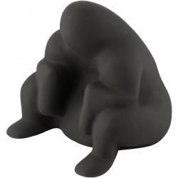 Deurstop Dédé zwart  Alessi