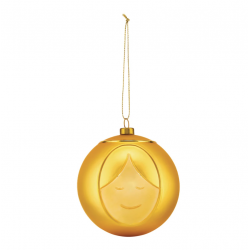 Kerstbal Giuseppe Gold  Alessi
