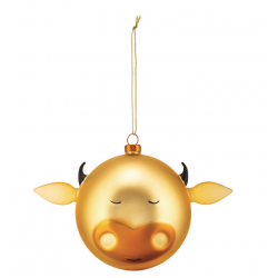 Kerstbal Bue Gold  Alessi