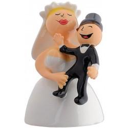 Abbracciami amore mio Bruidstaarttopper  Alessi