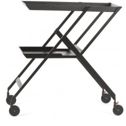 PLICO, TROLLEY BLACK  Alessi