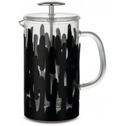 Barkoffee French Press 8 kopjes Zwart  Alessi