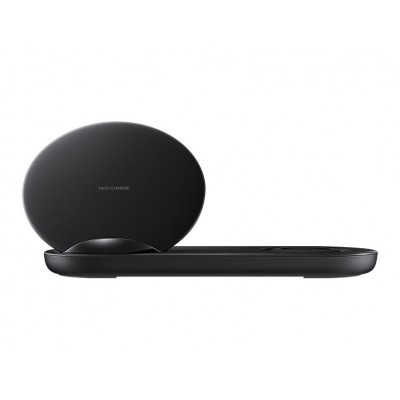 Wireless Charger Duo Zwart Samsung