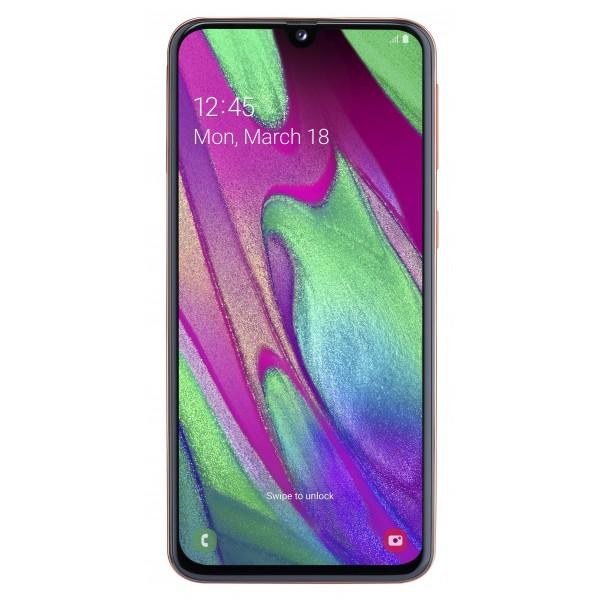 Samsung Smartphone Galaxy A40 Oranje