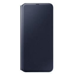 Flip Wallet voor Galaxy A70 2019 Zwart