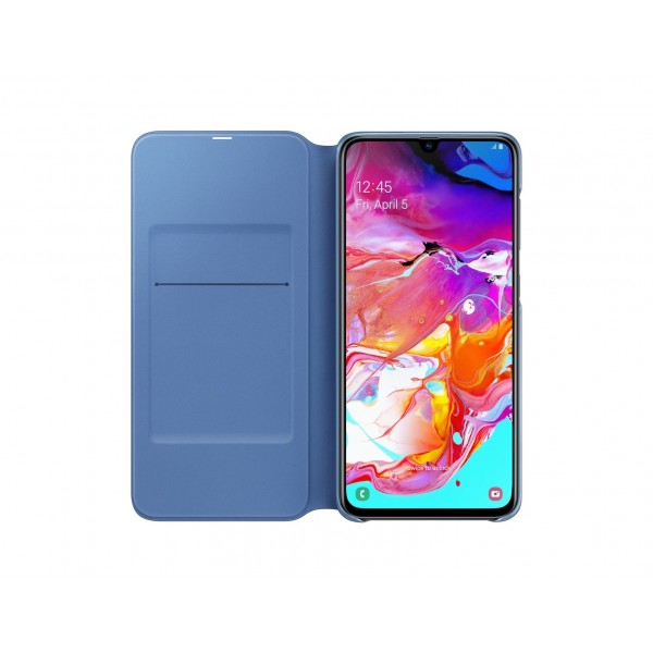 Samsung Flip Wallet voor Galaxy A70 2019 Zwart