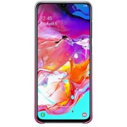 Gradation Cover voor Galaxy A70 Roze Samsung