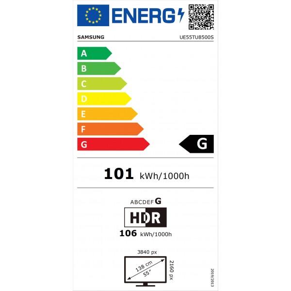Crystal UHD UE55TU8500 (2020) Samsung