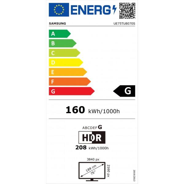 Crystal UHD UE75TU8070 (2020) Samsung