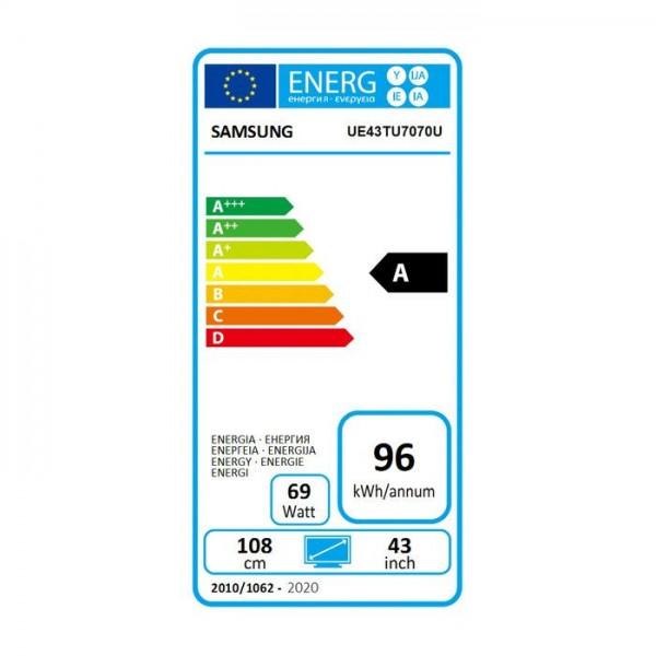 Crystal UHD UE43TU7070 (2020) Samsung