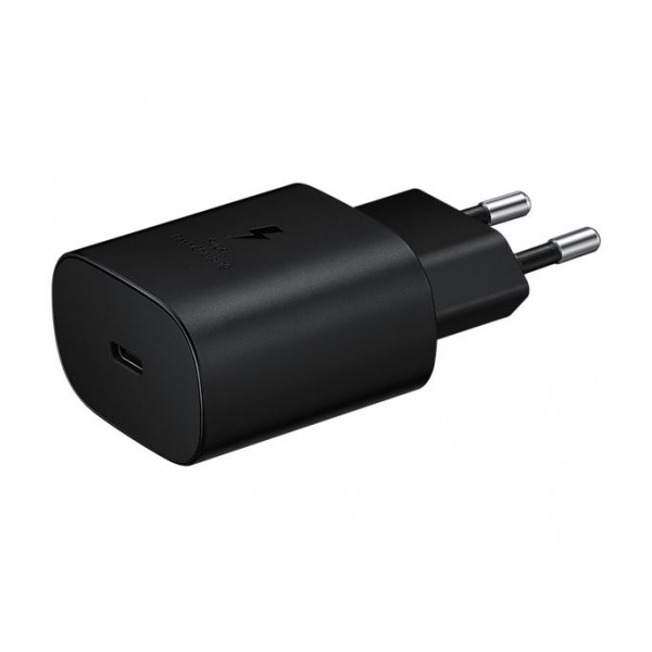 25W Travel Adapter Black