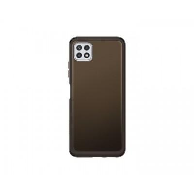 Galaxy A22 5G Soft Clear Cover Black