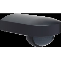 Buitenbewegingsmelder 180°, 230 V, 13 m, met oriënteerbare lens, (black)  Niko