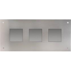 Frontplaat en inbouwdoos voor modulaire buitenpost  Niko