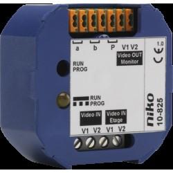 Niko Toegangscontrole - inbouwswitcher voor het selecteren van 2 videosignalen voor 1 binnenpost  Niko
