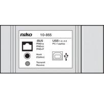 Niko Toegangscontrole - PC-interface voor programmering en configuratie.