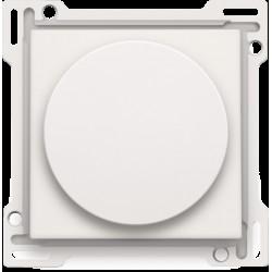 Afwerkingsset voor draaiknopdimmer of snelheidsregelaar, incl. draaiknop, white  Niko