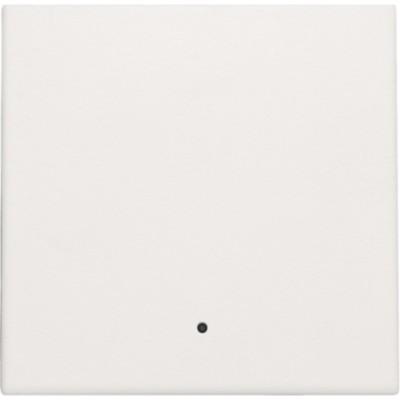Afwerkingsset met lens voor elektronische schakelaar of drukknop, white  Niko