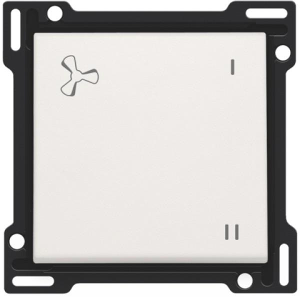 Afwerkingsset voor mechanisch gecontroleerde ventilatiebediening, white