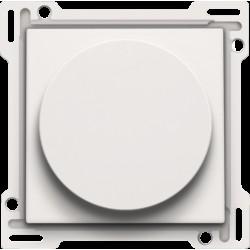 Afwerkingsset 1-2-3 voor draaischakelaar voor motoren, white