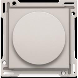 Afwerkingsset voor draaiknopdimmer of snelheidsregelaar, incl. draaiknop, light grey  Niko