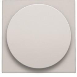 Afwerkingsset voor draaiknopdimmer of extensie, incl. draaiknop, light grey  Niko