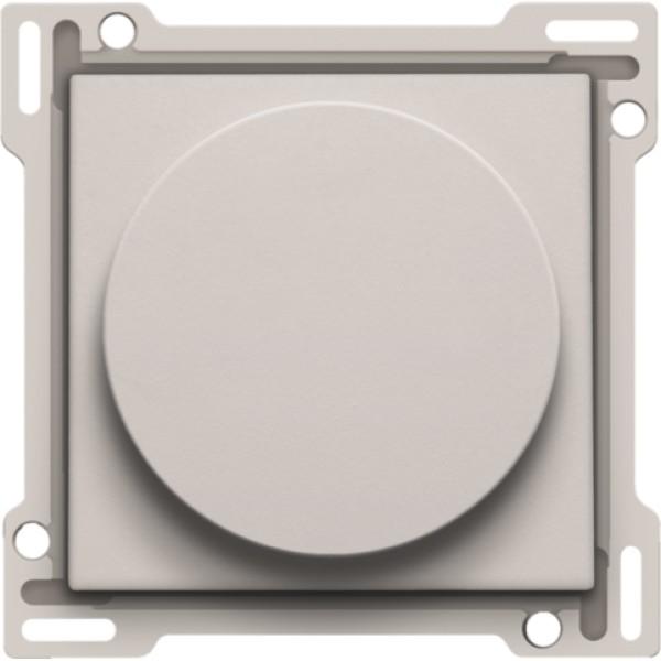 Afwerkingsset op/neer voor draaischakelaar, light grey