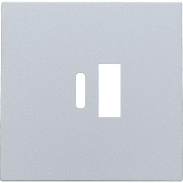 Afwerkingsset voor dubbele smart USB-A en USB-C-lader, sterling