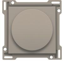 Afwerkingsset voor draaiknopdimmer of snelheidsregelaar, incl. draaiknop, bronze