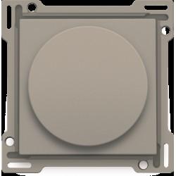 Afwerkingsset voor draaiknopdimmer of snelheidsregelaar, incl. draaiknop, bronze  Niko
