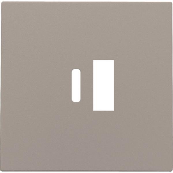 Afwerkingsset voor dubbele smart USB-A en USB-C-lader, bronze