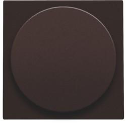 Afwerkingsset voor draaiknopdimmer of extensie, incl. draaiknop, dark brown  Niko