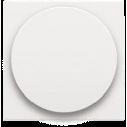 Afwerkingsset voor draaiknopdimmer of extensie, incl. draaiknop, white coated  Niko