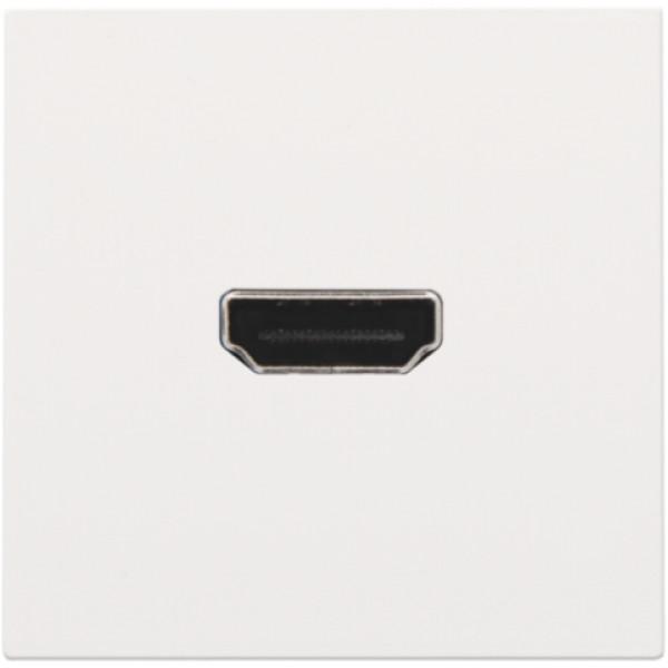 Afwerkingsset met HDMI-naar-HDMI-aansluiting, white coated