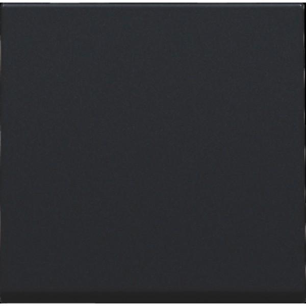Afwerkingsset voor elektronische schakelaar of drukknop, black coated