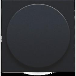 Afwerkingsset voor draaiknopdimmer of extensie, incl. draaiknop, black coated  Niko