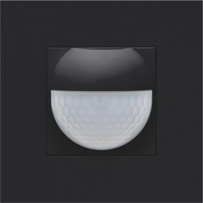 Afwerkingsset voor binnenbewegingsmelder voor Niko Home Control, black coated  Niko