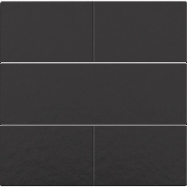 Afwerkingsset voor 4-voudige potentiaalvrije drukknop 24 V, piano black coated