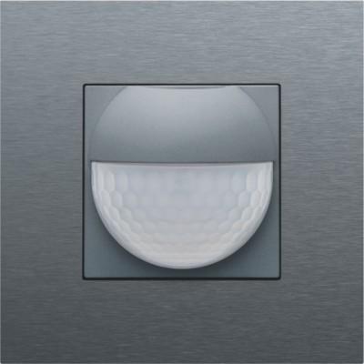 Afwerkingsset voor binnenbewegingsmelder voor Niko Home Control, steel grey coated  Niko
