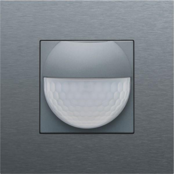 Afwerkingsset voor binnenbewegingsmelder voor Niko Home Control, steel grey coated